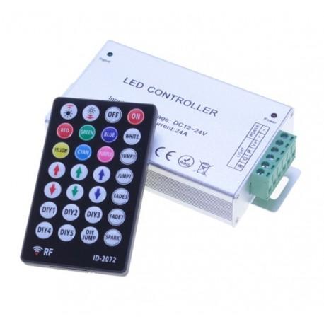 Sterownik 216W RF 28 przycisków do taśm LED RGB