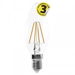 Żarówka LED  4W E14 FILAMENT świeczka biała ciepła