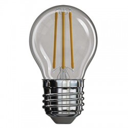 Żarówka LED  4W E27 FILAMENT kulka biała ciepła