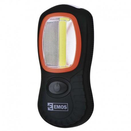 Latarka LED COB 3W + LED 3x5mm
