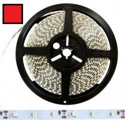 Taśma 3528 LED 300 IP20 czerwona 5mb 12V DC